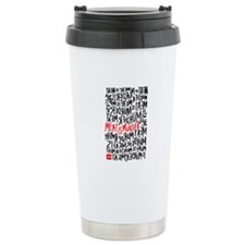 Meat is Murder Stainless Steel Travel Mug
