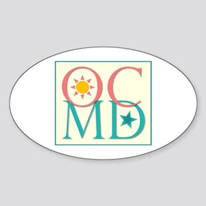 Ocean City, MD Sticker (Oval)