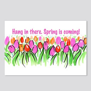 Spring is coming! Postcards (Package of 8)