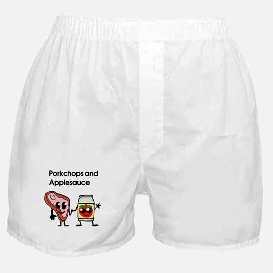 Pork Chop and Applesauce Boxer Shorts