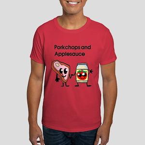 Pork Chop and Applesauce Dark T-Shirt
