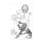 Consciousness Sticker (Rectangle 10 pk