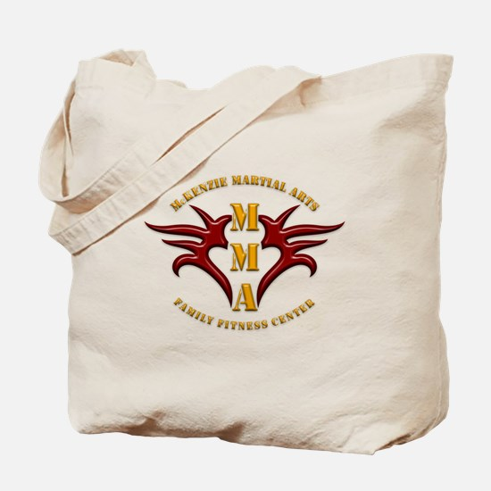 MMA Logo 2 - Gold Red - Tote Bag