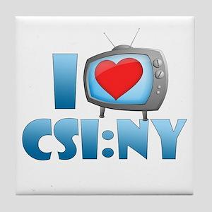 I Heart CSI: NY Tile Coaster