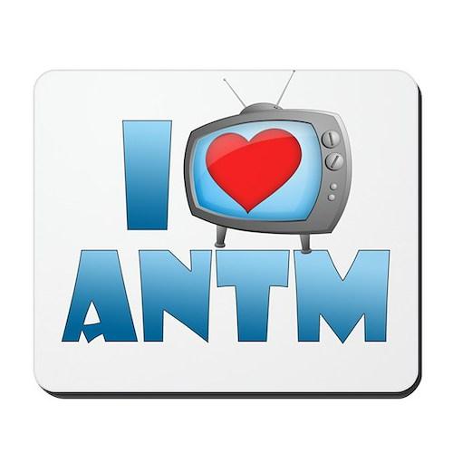 I Heart ANTM Mousepad
