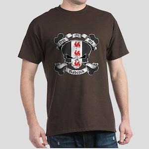 Babcock Family Crest Skull Dark T-Shirt