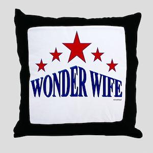 Wonder Wife Throw Pillow