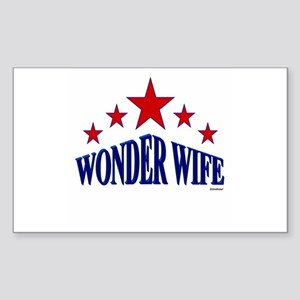 Wonder Wife Sticker (Rectangle)