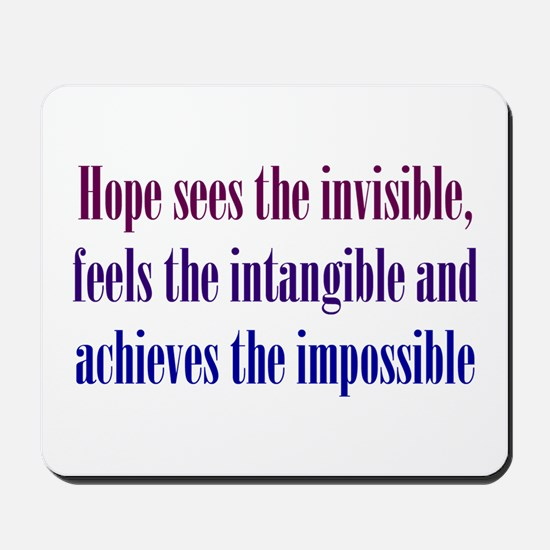 Impossible Hope Mousepad