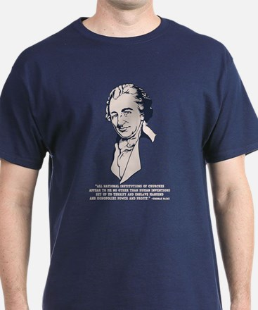 Thomas Paine -Megachurches T-Shirt