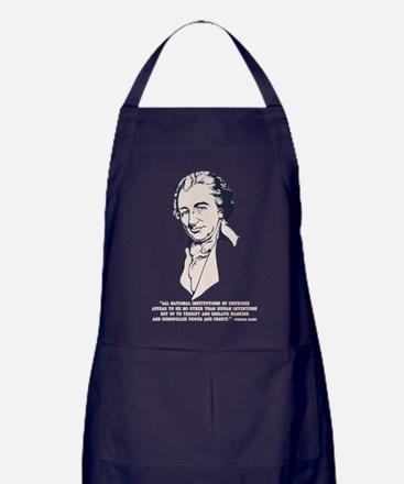 Thomas Paine -Megachurches Apron (dark)