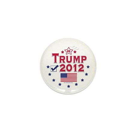 Trump 2012 Mini Button (10 pack)