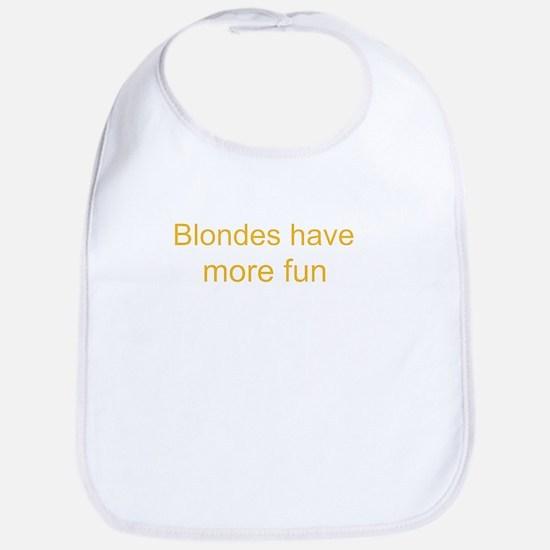Blonde Fun Bib