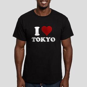 I heart tokyo Men's Fitted T-Shirt (dark)