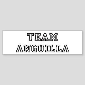 Team Anguilla Bumper Sticker