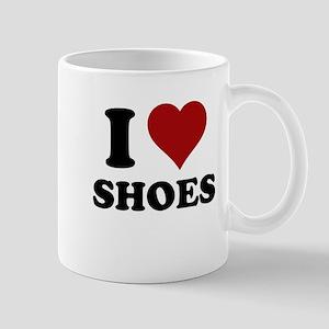 I heart shoes Mug