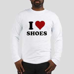 I heart shoes Long Sleeve T-Shirt