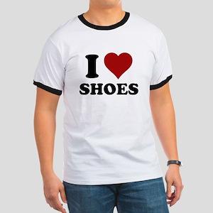 I heart shoes Ringer T