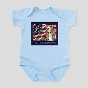Basset Hound United Paws Infant Creeper