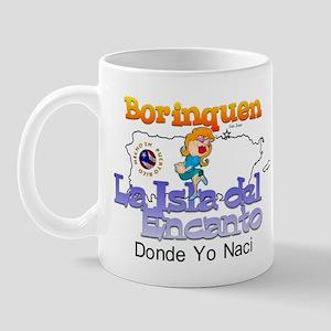 Borinquen Donde Yo Naci Mug
