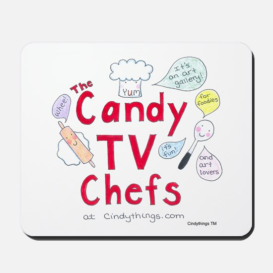 Yum Candy TV Chefs Mousepad