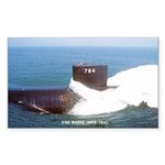 USS BOISE Sticker (Rectangle)