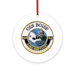 USS BOISE Ornament (Round)