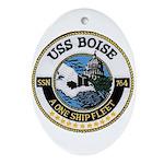 USS BOISE Ornament (Oval)