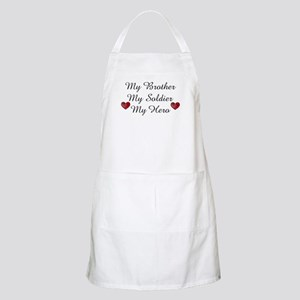 My Brother, My Soldier, My He BBQ Apron