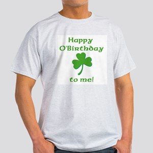 Happy O'Birthday!! Ash Grey T-Shirt