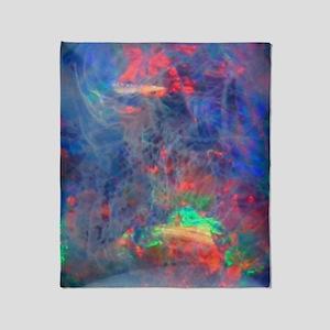 Translucent Opal Design Throw Blanket