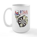 USA Darts Large Mug