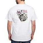 USA Darts White T-Shirt