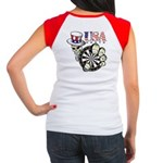 USA Darts Women's Cap Sleeve T-Shirt