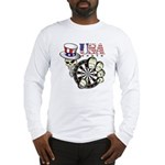 USA Darts Long Sleeve T-Shirt