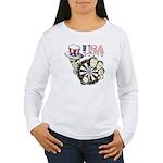 USA Darts Women's Long Sleeve T-Shirt
