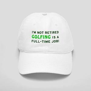 Retired Golfing Gag Gift Cap