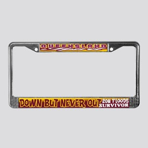 QLD Spirit License Plate Frame