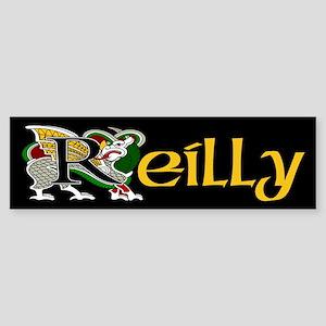 Reilly Celtic Dragon Bumper Sticker
