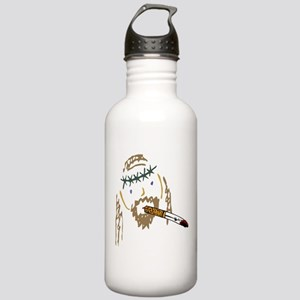 Jesus Smoking Christian Crack Stainless Water Bott
