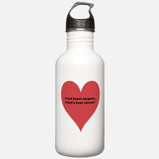 I had heart surgery, what's y Water Bottle