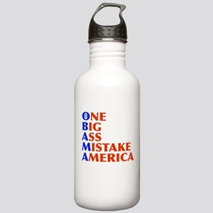 Obama: One Big Ass Mistake Am Stainless Water Bott