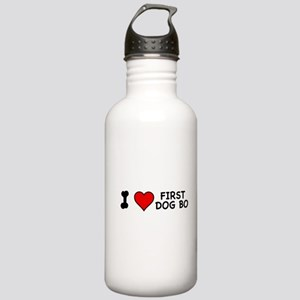 I Love First Dog Bo Stainless Water Bottle 1.0L