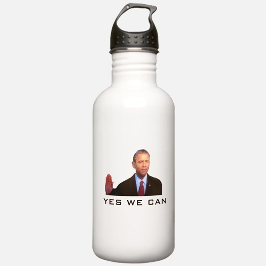 Obama Yes We Can Water Bottle