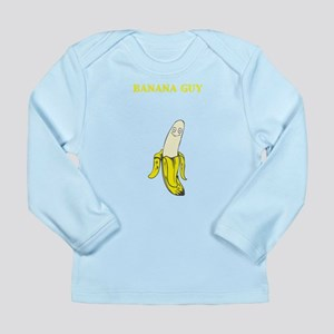 Bannana Guy Long Sleeve Infant T-Shirt