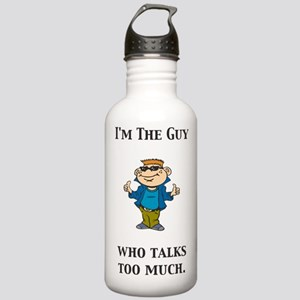 ITG...Who Talks Too Much Stainless Water Bottle 1.