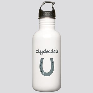 Clydesdale Horses Stainless Water Bottle 1.0L