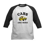 Cabs Are Here Kids Baseball Jersey