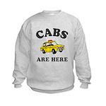 Cabs Are Here Kids Sweatshirt