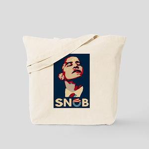 Obama the SNOB Tote Bag